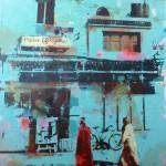 Essaouira Street, Turquoise Wall £1800