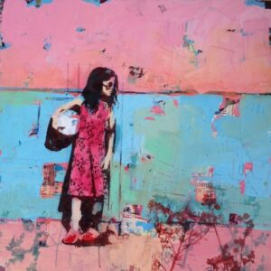 Girl with Ball £1350