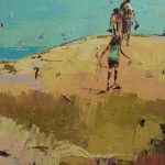 Climbing the Dunes SOLD