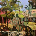 Le Jardin Secret with Date Palms and Bright Wall
