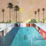Pool with Six Palms SOLD