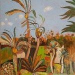 Wind in the Date Palm, Le Jardin Secret, Marrakech